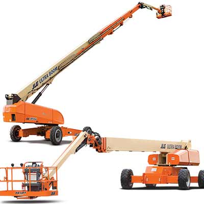 JLG boom lift maimi signs and printing