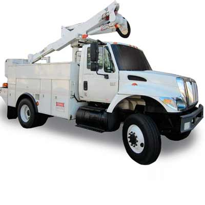 maimi signs and printing large bucket truck for signs