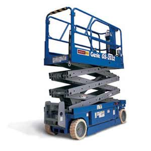 small scissor lift rental maimi signs and printing