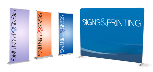 miami banner stands