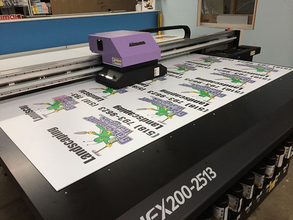 miami flatbed uv printing