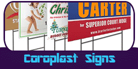 Coroplast Signs Miami Banner Printing Products