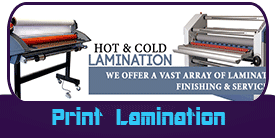 Lamination Miami Banner Printing Products