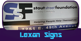 Lexan Signs Miami Banner Printing Products