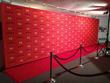 Miami Step And Repeat Backdrop Red Carpet