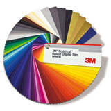 3M Color Reference Chart Miami Vinyl Decals